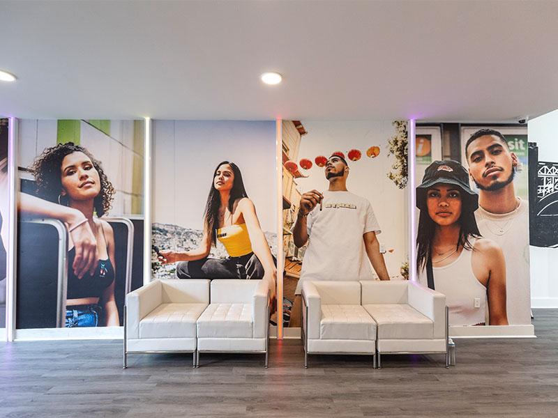Stiiizy store design by Temeka Group