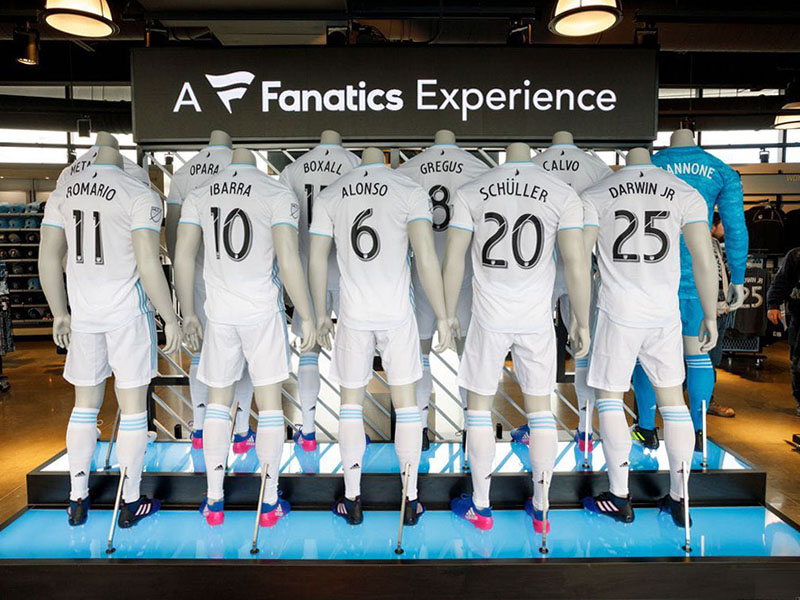 Fanatics Display
