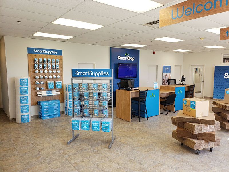 Smart Supplies retail display by Temeka Group