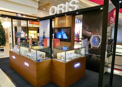 ORIS retail design by Temeka Group